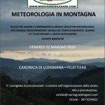 Evento in Lunigiana: Metereologia in Montagna