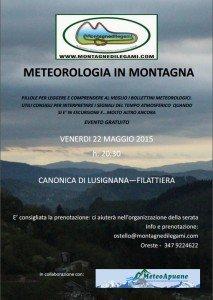 evento gratuito in lunigiana toscana corso di metereologia