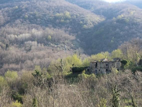 Viaggiare a piedi in Toscana Via del Volto Santo