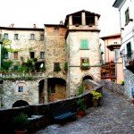 Itinerario trekking via del Volto Santo Lunigiana Toscana