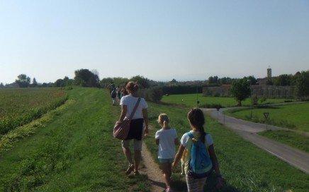trekking piedi pisa bambini asini