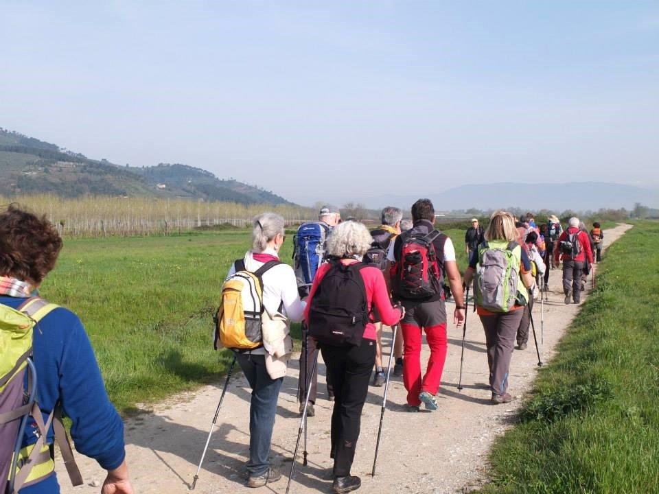 itinerario trekking toscana