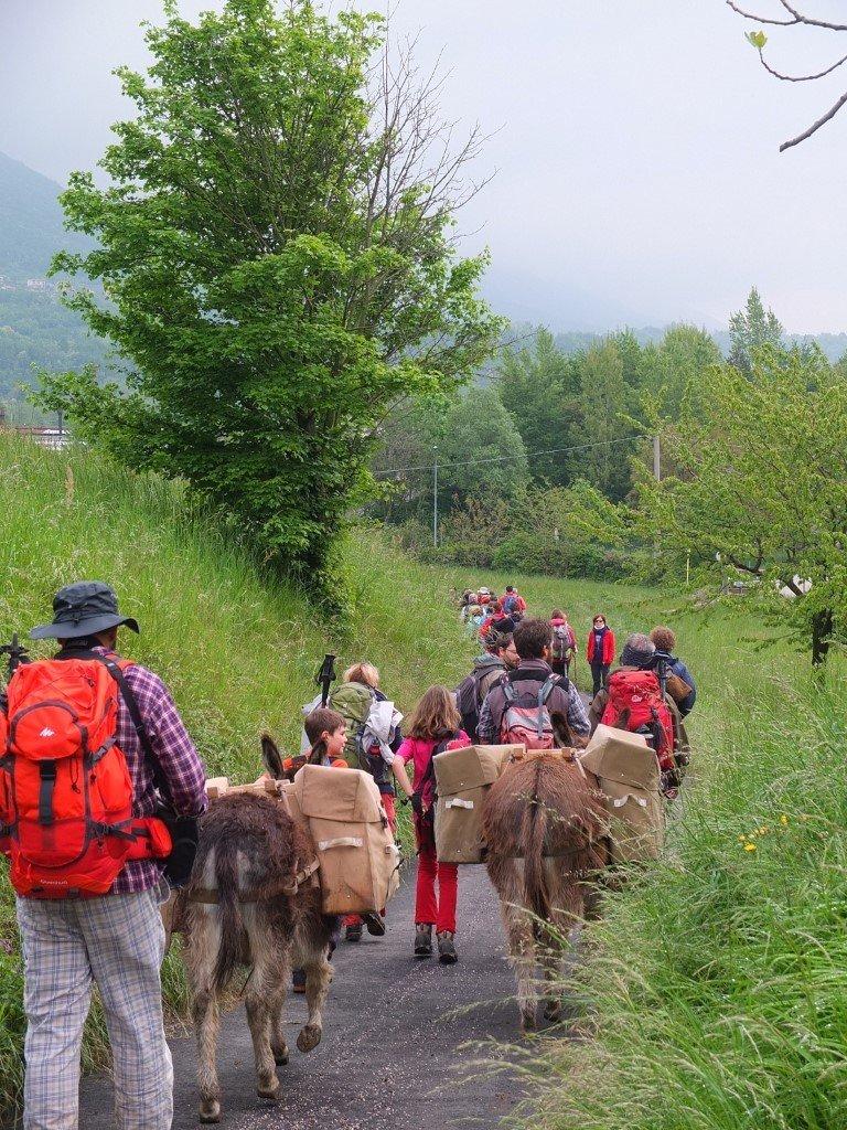 trekking pisa escursione a piedi famiglie bambini