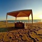 cena romantica spiaggia mare pisa