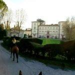gita cavalli pisa itinerario ville storiche