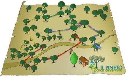 parco avventura pisa il pineto