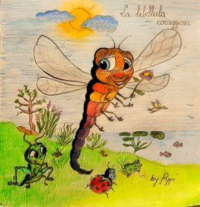 storie bambini fiaba FAVOLA libellula coraggiosa