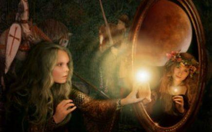 fiaba favola storia bambini lo specchio incantato